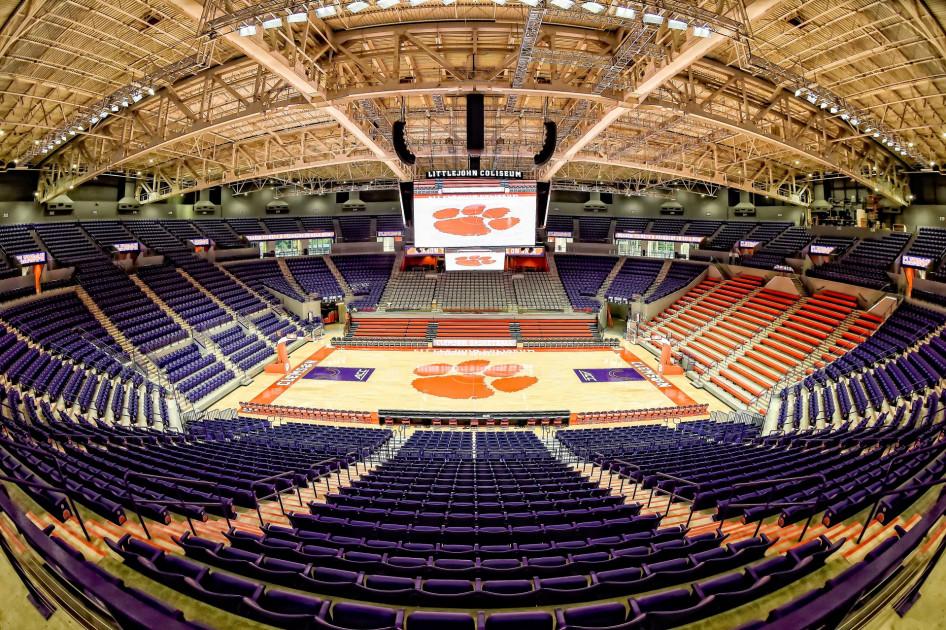Littlejohn Coliseum Clemson Tigers Official Athletics Site