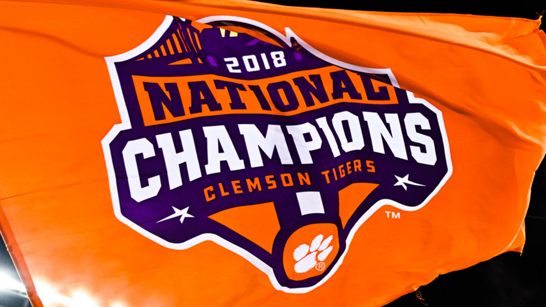 The Story Behind The National Championship Logo Clemson Tigers