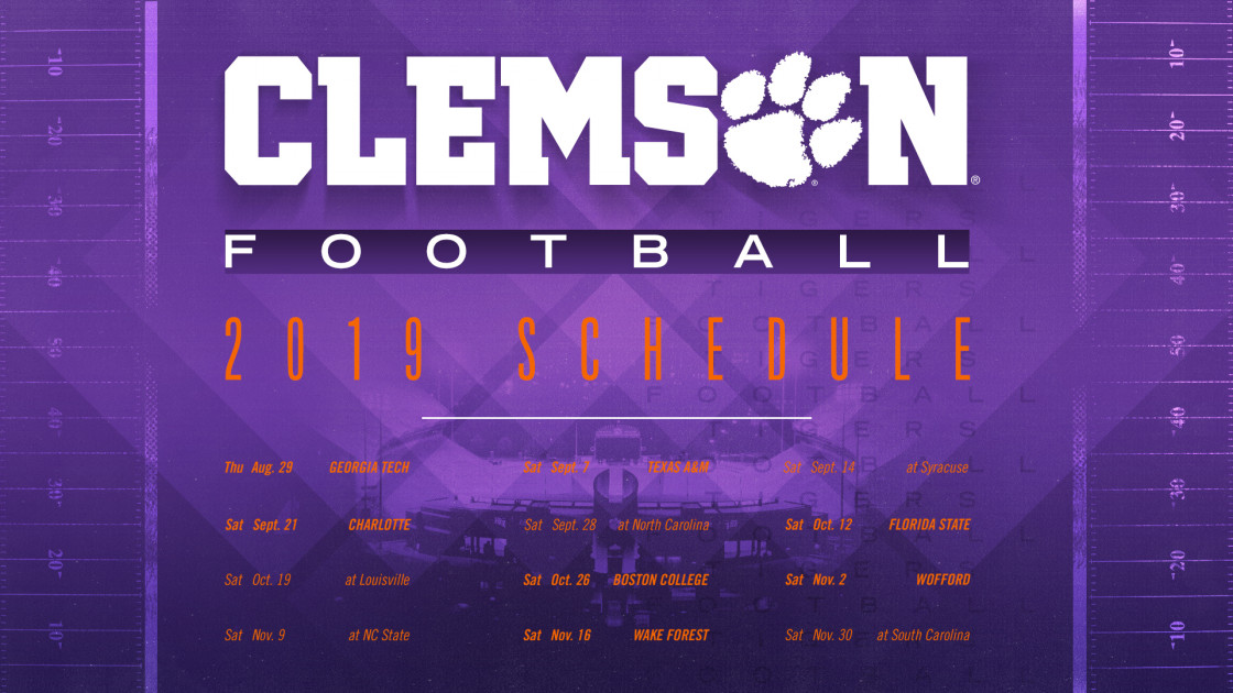 2019 Clemson Football Spring Guide Schedule Clemson Tigers Official Athletics Site