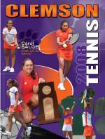 2008 Clemson Women's Tennis Media Guide