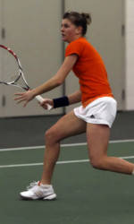 #11 Clemson Women's Tennis Sweeps the Maryland Terrapins 7-0