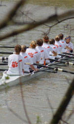 Clemson Rowing Ranked 17th