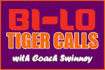 BI-LO Tiger Calls with Coach Swinney at Clemson BI-LO Tonight from 7-8 PM