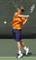 Clemson's Ryan Young Named ACC Men's Tennis Performer of the Week