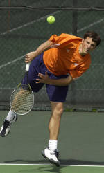 Clemson to Face South Carolina Wednesday in Men's Tennis