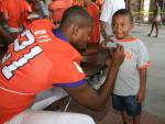 Photo Gallery: Football Fan Appreciation Day