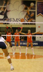Tiger Volleyball Travels To Iowa For UNI Invitational