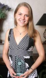 Swimmer Rachel Regone Receives NCAA Postgraduate Scholarship