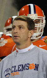 Vote for Dabo Swinney for Liberty Mutual Coach of the Year Award