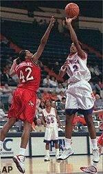 Women's Basketball Defeats Maryland, 59-57