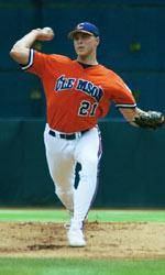 Solid Pitching Leads Clemson to 4-1 Victory Over South Carolina