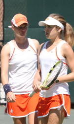 Clemson's Bek, Hadziselimovic Advance to Final 16 of NCAA Doubles Championship