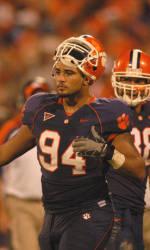 Clemson Football Game Program Feature: Phillip Merling