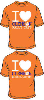 Support and Show Your Love for Clemson University's Spirit Squads