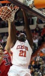 Voting Open for Clemson's Bryan Narcisse in Round Two of College Slam Dunk Championship
