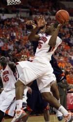 Men's Basketball Overcomes Florida State, 53-50