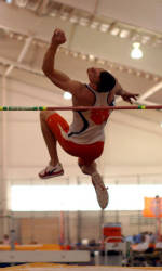 Ryan Koontz Stands First After Day One of ACC Indoor Heptathlon