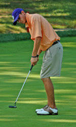 Clemson Has Second Round Lead at NCAA Golf Championships