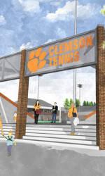 Video Rendering of Hoke Sloan Tennis Center Enhancements