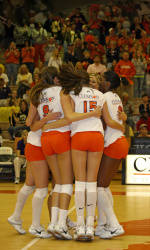 Clemson Volleyball Up To #20 In AVCA Poll