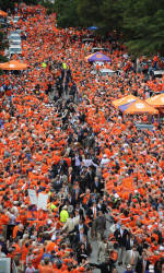 Clemson to Hold Tiger Walk on Saturday