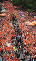 Clemson to Hold Tiger Walk on Saturday