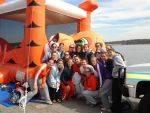 Tiger Rowing Team Participates in 15th Annual Polar Bear Jump