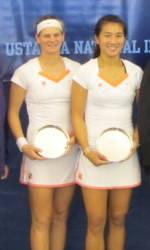 Tigers Fall in USTA/ITA Indoor Doubles Championship Finals