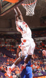 Clemson Men's Basketball Team to Play Host to South Carolina Sunday Afternoon