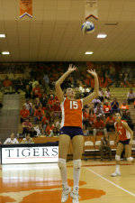 Tiger Volleyball Concludes 2008 Regular Season With 3-2 Comeback Win At Georgia Tech