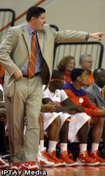 Clemson Men's Basketball Team to Face Virginia on the Road Tuesday Night