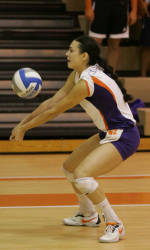 Tiger Volleyball Tops Wolfpack, 3-1, on Saturday Night