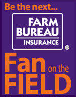 Register to Win a VIP Gameday Experience with Farm Bureau Insurance Fan on the Field Contest
