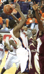 Clemson Men's Basketball Team to Play Host to N.C. State Tuesday Evening