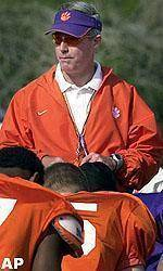 Tommy Bowden Football Camp Registration Available Online