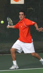 Clemson Splits Men's Tennis Double Header