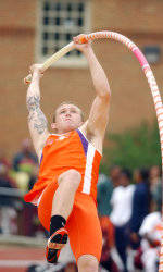Mitch Greeley Claims Pole Vault Championship at Penn Relays