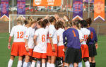 Clemson Women's Soccer Team to Face North Carolina in ACC Championship Quarterfinals on Wednesday