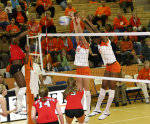Tiger Volleyball To Face North Carolina, NC State On The Road