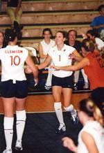 Clemson-North Carolina Volleyball Match Set For 4:00 p.m. On Oct.25