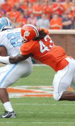 Four Tigers Garner ACC Football Player of the Week Honors