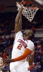 Clemson Men's Basketball Team to Face North Carolina in Chapel Hill Tuesday Night