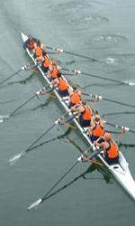 Clemson Rowing Competes at Head of the Hooch Regatta