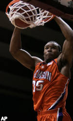 Booker and Mays Lead No. 19 Clemson Over Alabama, 87-61