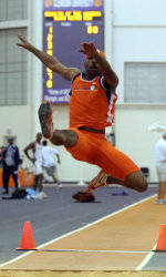 Clemson Men Lead After Day Two at ACC Indoor Track & Field Championships