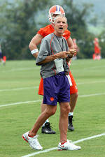 Clemson Holds Second Day of Practice