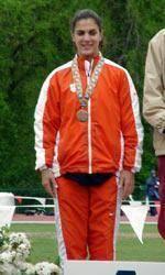 Former Lady Tiger Joana Costa Competes at IAAF World Indoor Championships