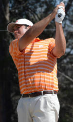Corbin Mills Has First-Round Lead at Players Amateur