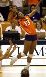 Clemson Volleyball Falls At Florida State In Five-Set Thriller