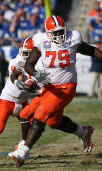 Richardson Named ACC Offensive Lineman of the Week for Second Straight Week